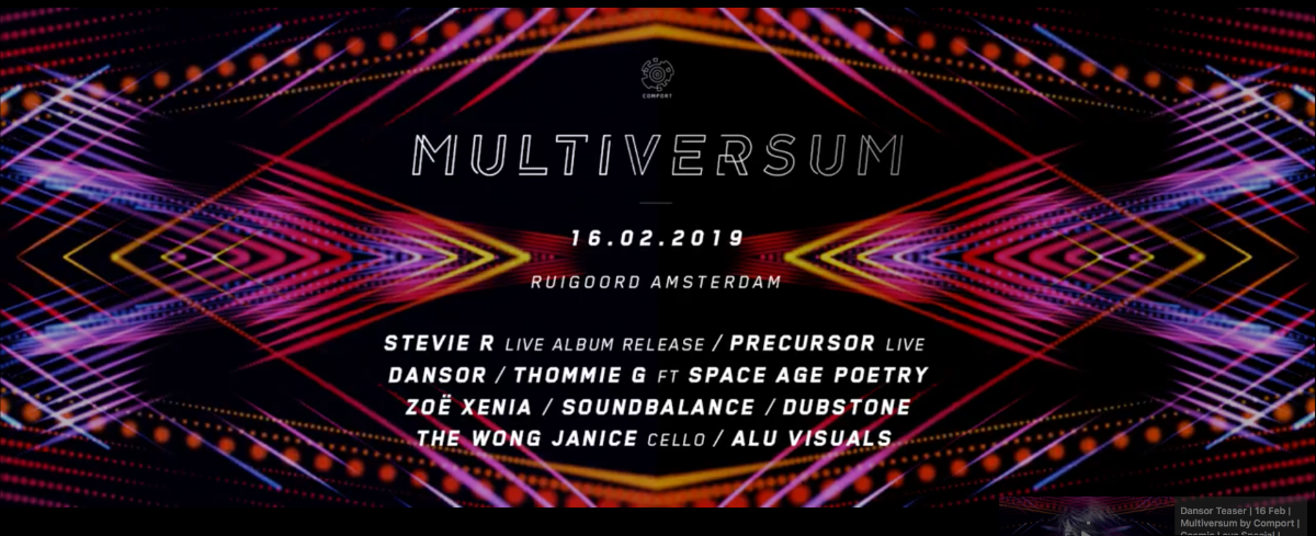 Multiversum by Comport - Cosmic Love 16 Feb '19, 22:00