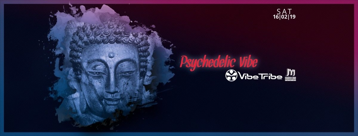 Psychedelic VIBE w/ VIBE TRIBE & friends 16 Feb '19, 23:00