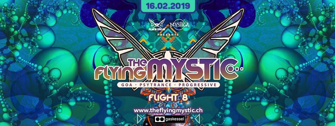 THE FLYING MYSTIC - Flight 8 - 16 Feb '19, 22:00