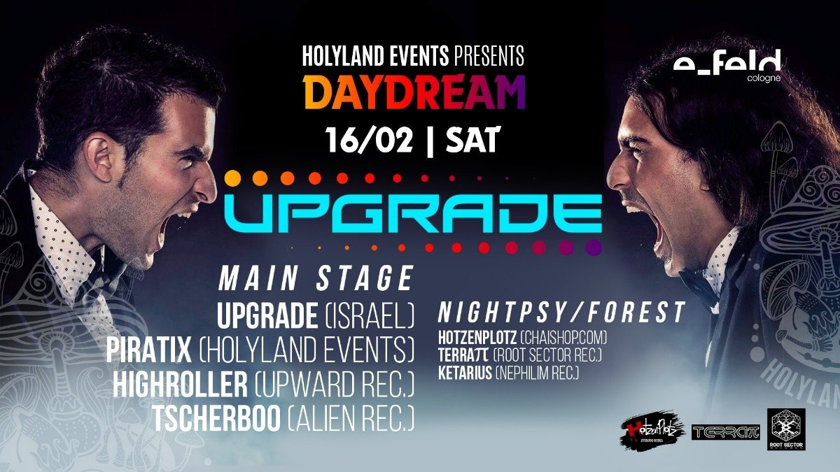 Upgrade (Israel) presented by Holyland Events 16 Feb '19, 23:00