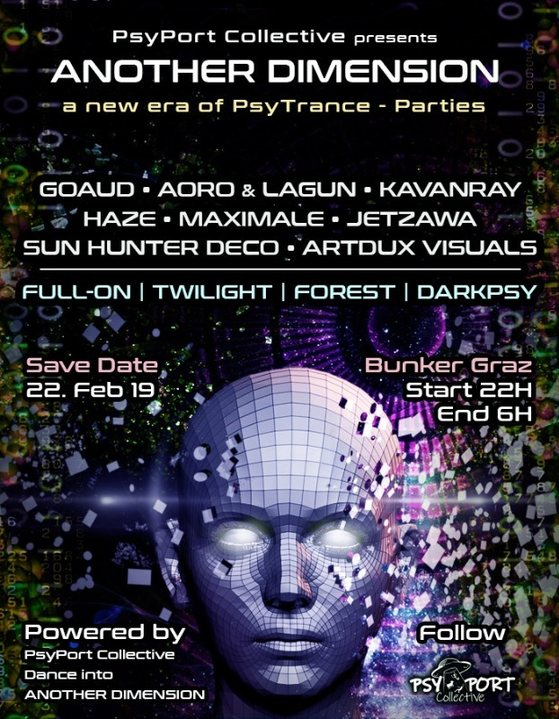 ANOTHER DIMENSION - PsyPortCollective 22 Feb '19, 22:00