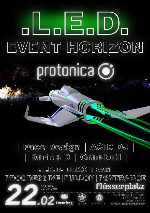 LED - Event Horizon 22 Feb '19, 22:00