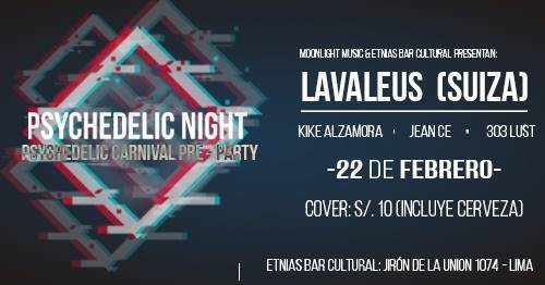Psychedelic Night - psychedelic carnival pre party 22 Feb '19, 22:00