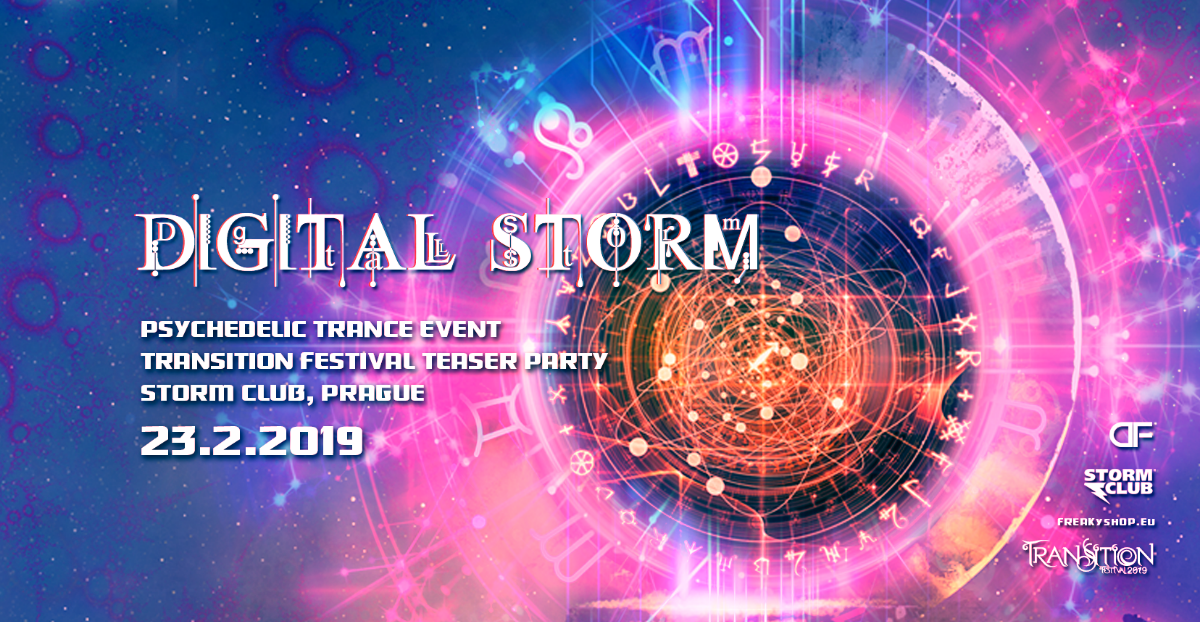 Digital Storm with Vertical & Djantrix 23 Feb '19, 21:00