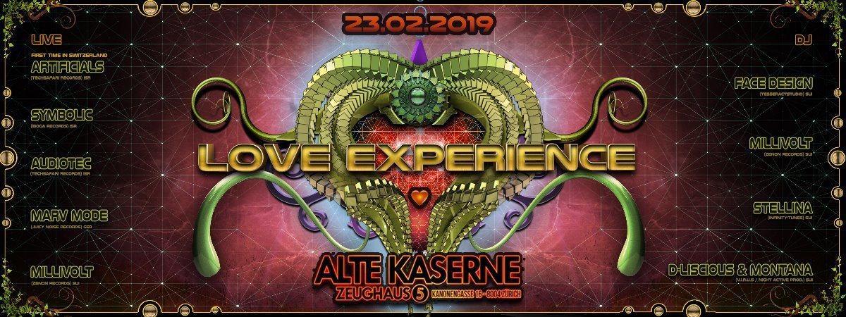**LOVE EXPERIENCE** Alte Kaserne Zürich 23 Feb '19, 22:30