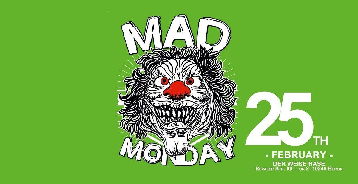 Mad Monday • presents Magnetic field Showcase | 25.02.19 |l 25 Feb '19, 23:00