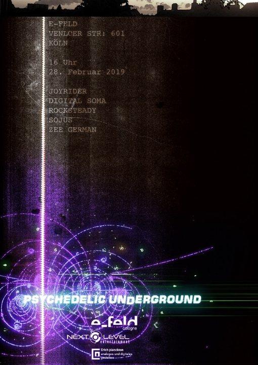 Psychedelic Underground 28 Feb '19, 16:00
