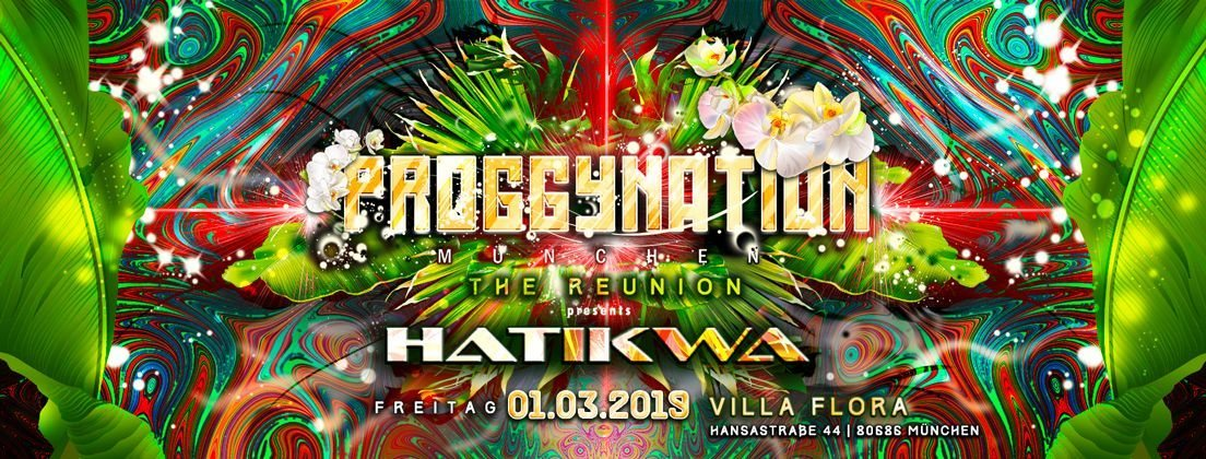 Proggynation München w. Hatikwa | the Reunion 1 Mar '19, 22:00