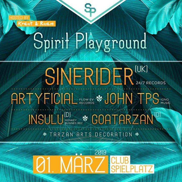 Spirit Playground - Club Spielplatz Linz 1 Mar '19, 22:00