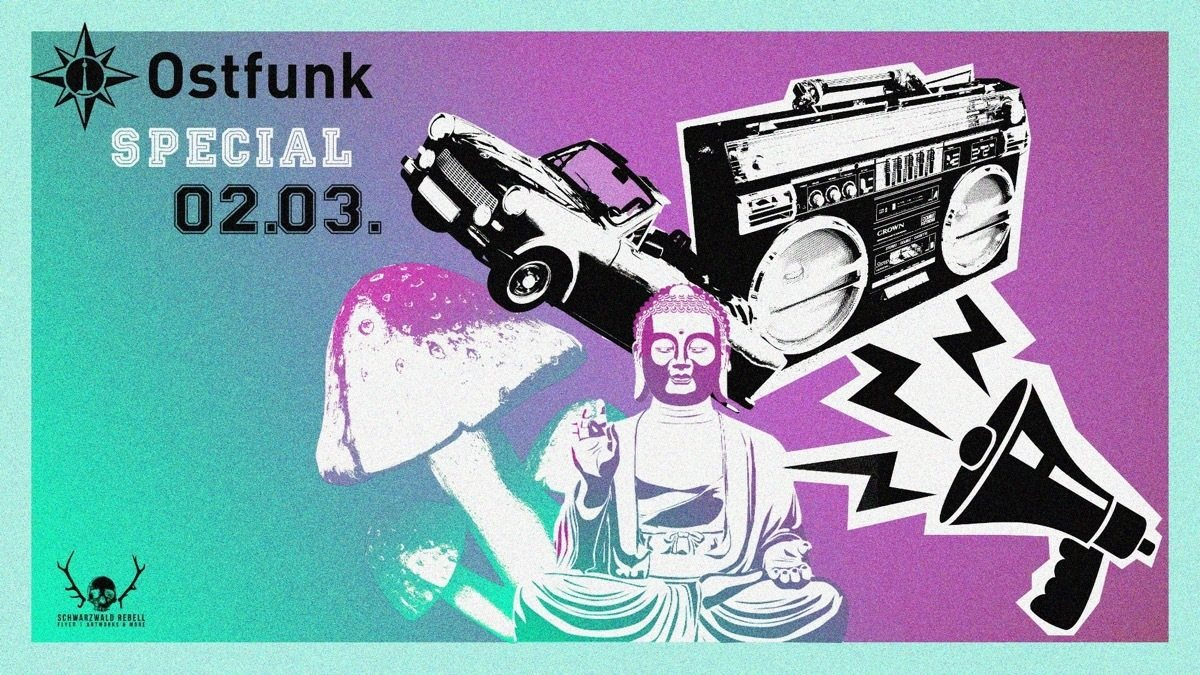 Ostfunk Special /w.Earthling & Aka Aka uvm. 2 Mar '19, 23:00