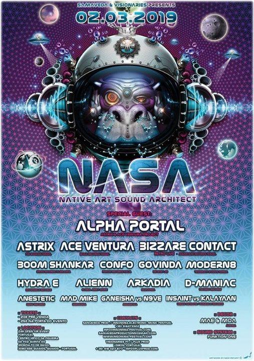 Samaveda & Visionaries - NASA(Native Art Sound Architect) 2 Mar '19, 20:00