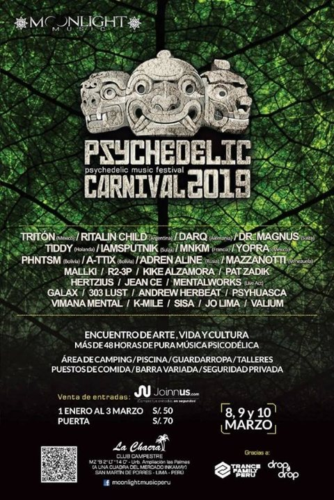 Psychedelic Carnival 2019 (6th Edition) 8 Mar '19, 12:00