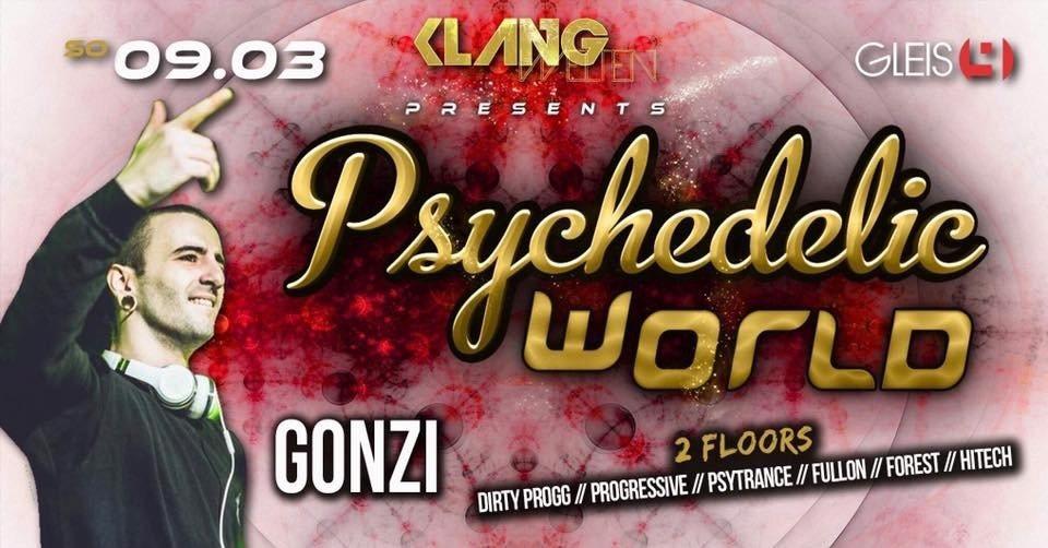 Psychedelic World / Gonzi Live 9 Mar '19, 23:00