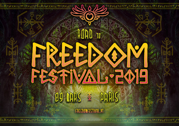 Road To Freedom Festival - Paris Teaser Party 9 Mar '19, 23:30
