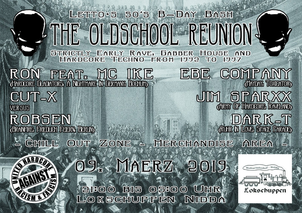 The Oldschool Reunion | Letto's 50th B-Day Bash 9 Mar '19, 21:00