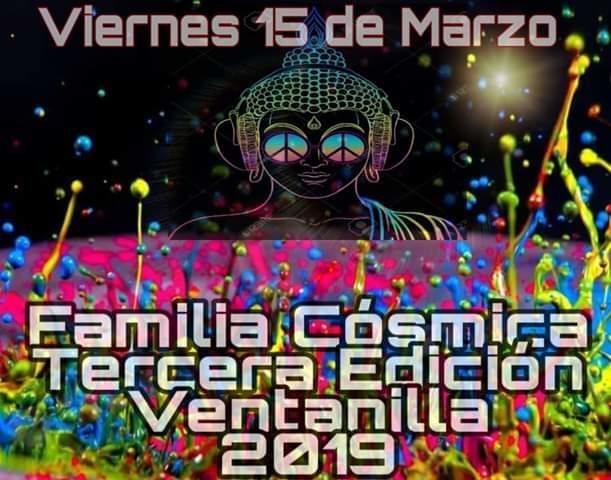 FAMILIA COSMICA 3a EDICION 15 Mar '19, 20:00
