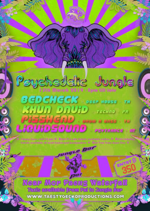 Psychedelic Jungle 15 Mar '19, 19:00