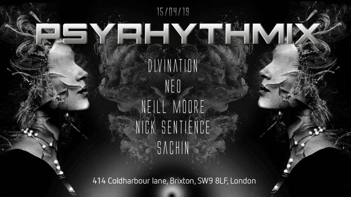 Psyrhythmix – Psytrance Adventure 15 Mar '19, 23:00
