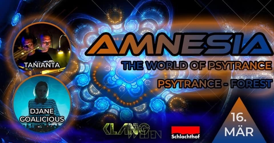 Amnesia The World of Psytrance 16 Mar '19, 22:00