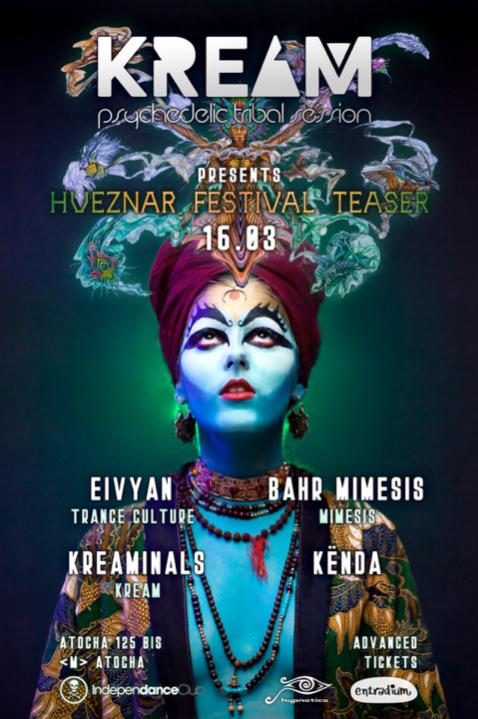 Hueznar Festival Teaser at KREAM 16 Mar '19, 23:30