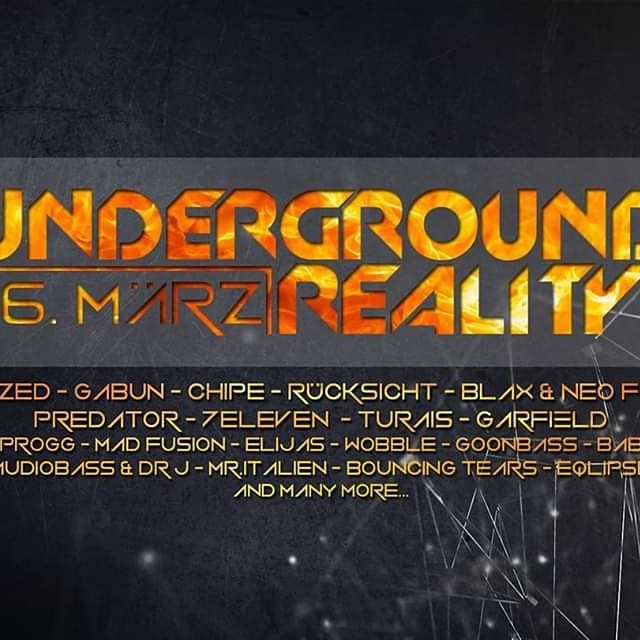 Ounderground Reality 16 Mar '19, 22:00