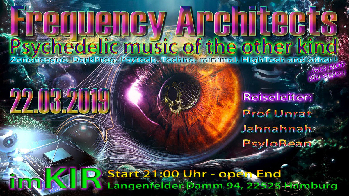 Frequency Architect 22 Mar '19, 21:00