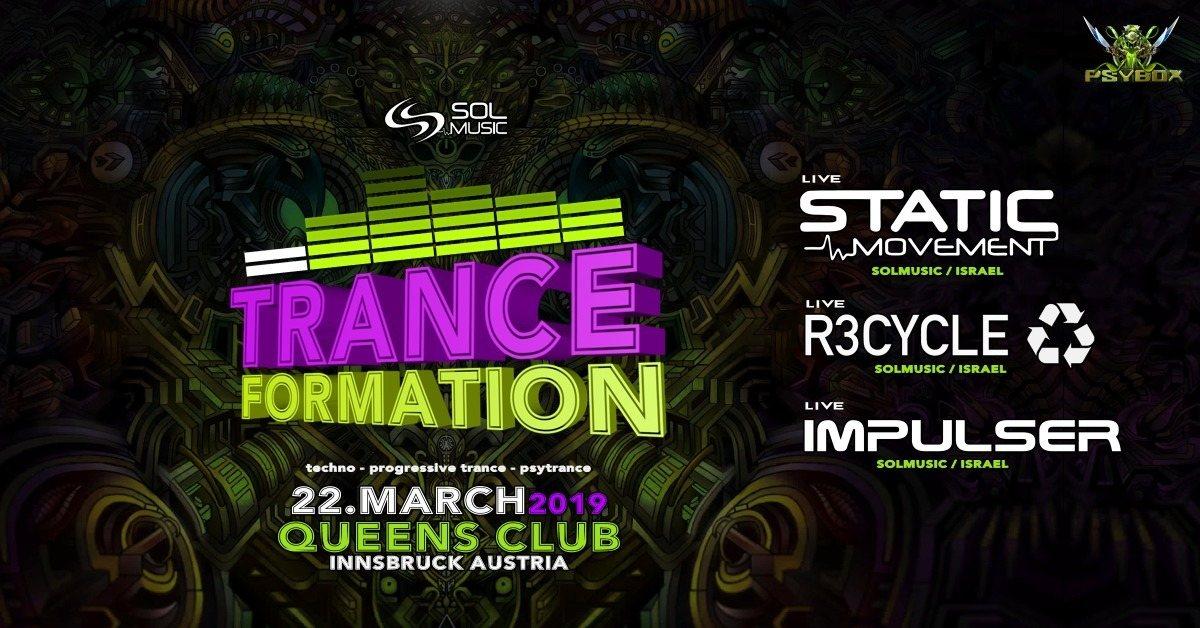 Psybox - Tranceformation / Static Movement - R3cycle - Impulser 22 Mar '19, 22:00