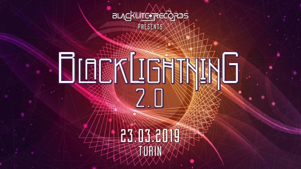 Blacklightning 2.0 ✫ Blacklite Records Label 23 Mar '19, 22:00