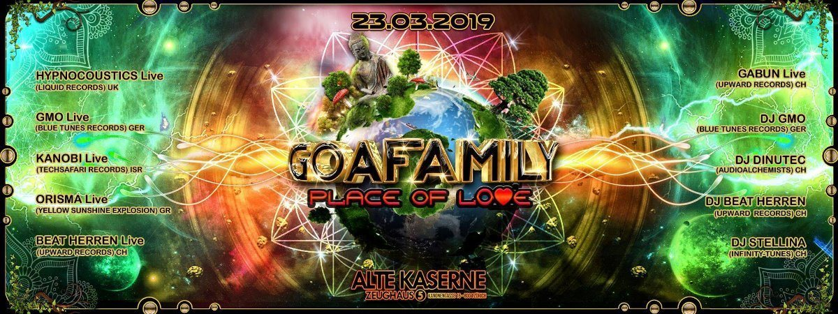 **GOAFAMILY - Place of Love** 23 Mar '19, 22:30