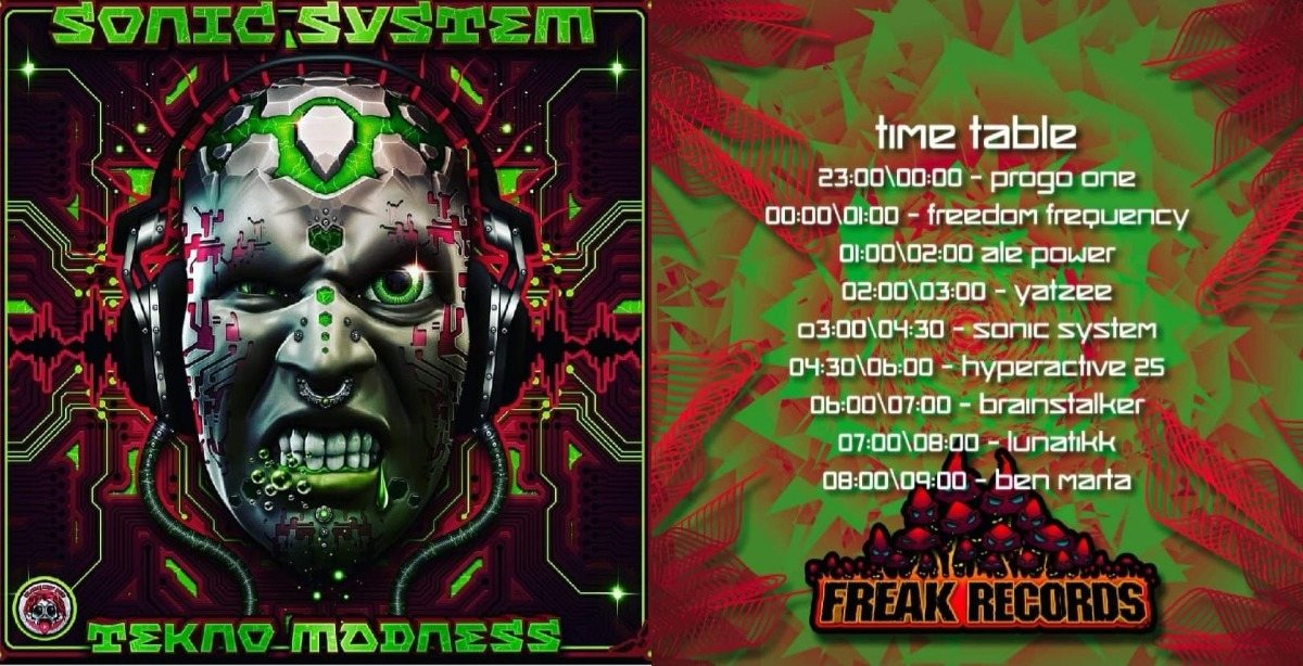 Lethal Madness Party (Sonic System B-day) 23 Mar '19, 23:00