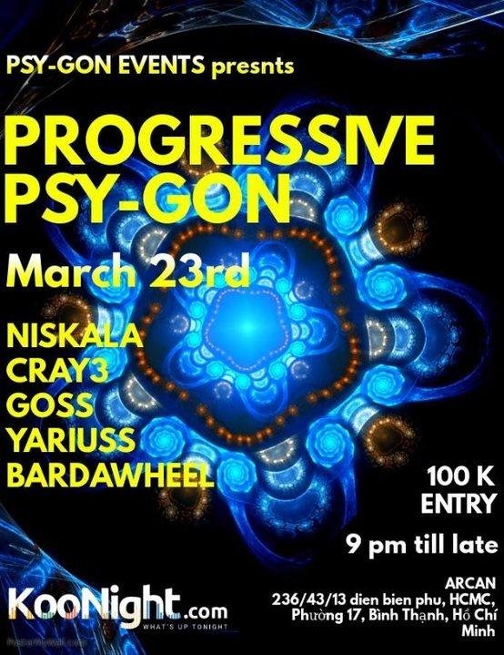 Progressive Psy-Gon 23 Mar '19, 22:00