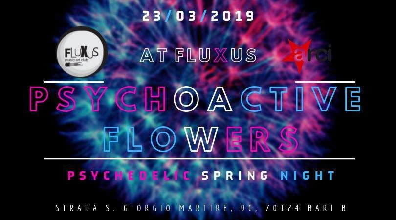 PSYchoactive FLOwers PSY-Trance Party 23 Mar '19, 22:00