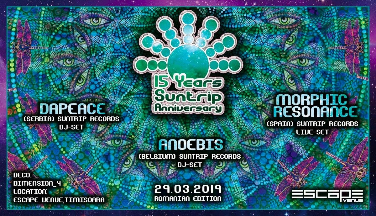 15 Years Suntrip Anniversary   Romanian edition 29 Mar '19, 23:00