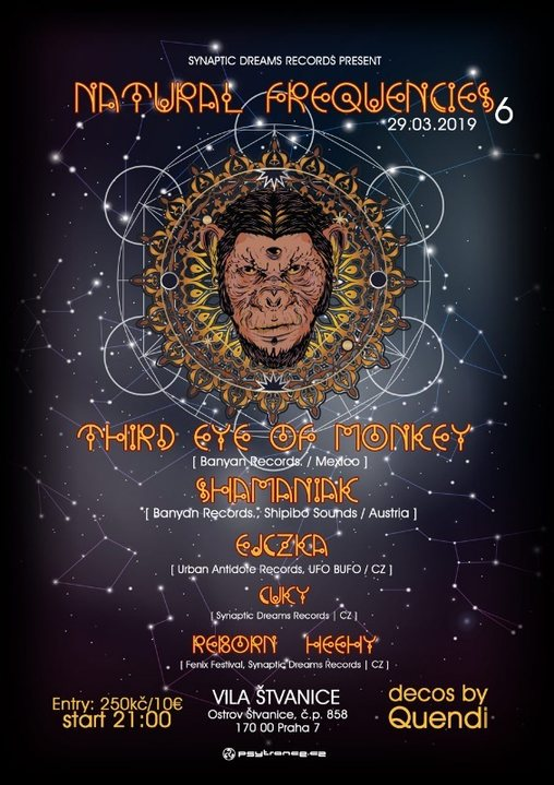 Natural Frequencies 6 w/ Third Eye of Monkey 29 Mar '19, 21:00