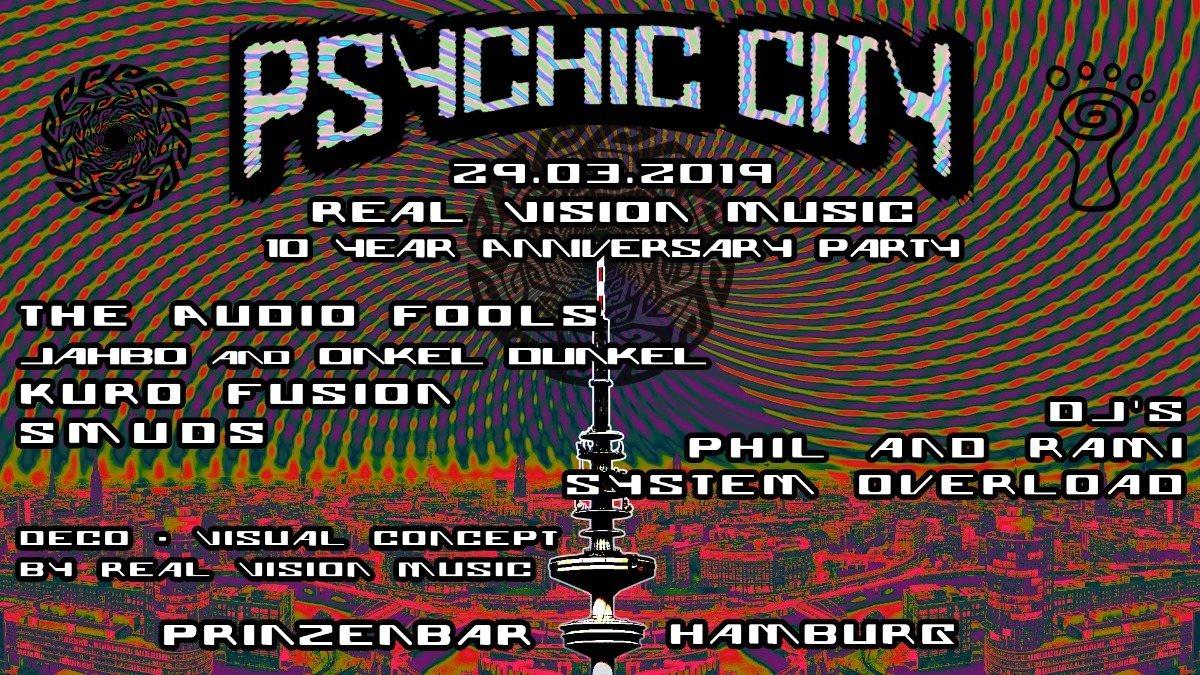 ¨'°º Psychic City º°'¨ 29 Mar '19, 23:00