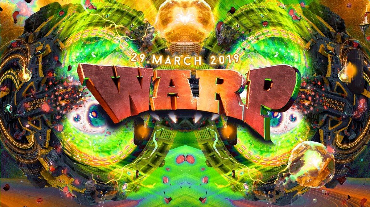 Warp! w/ Outsiders 29 Mar '19, 23:00
