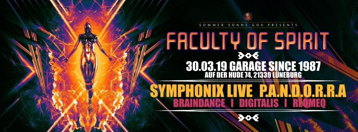 Faculty of Spirit 30 Mar '19, 23:00