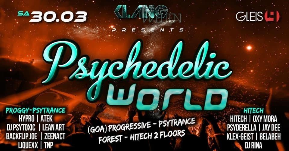 Psychedelic World 30 Mar '19, 23:00