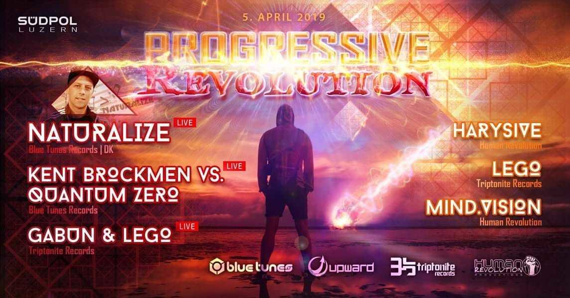 Progressive Revolution w/ Naturalize 5 Apr '19, 23:00