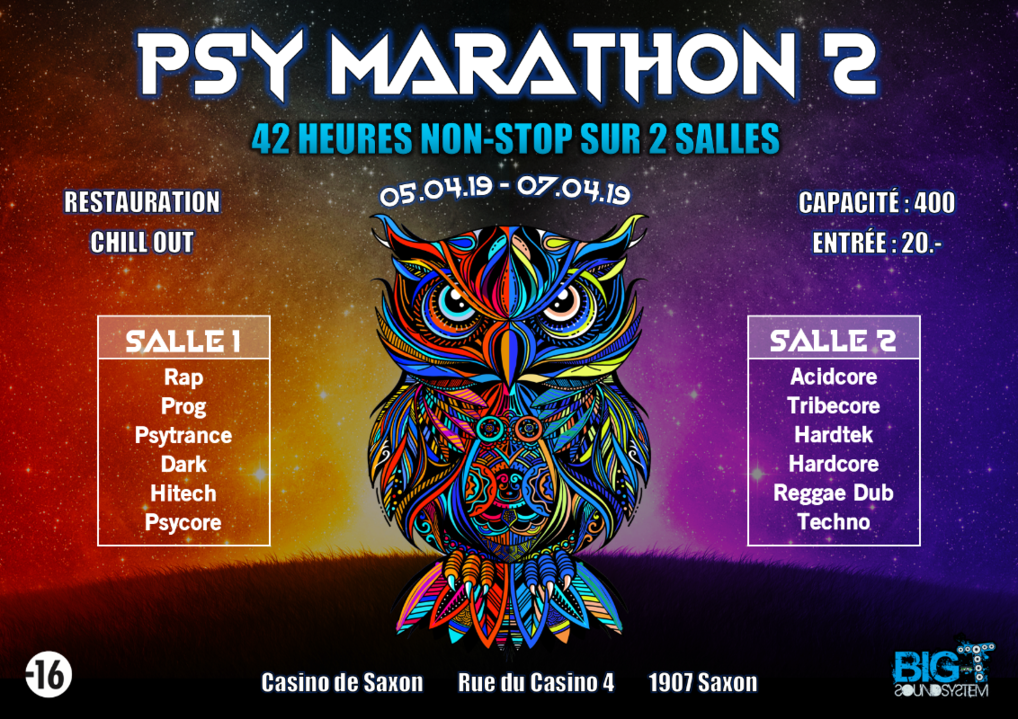 Psy Marathon 2 5 Apr '19, 12:00
