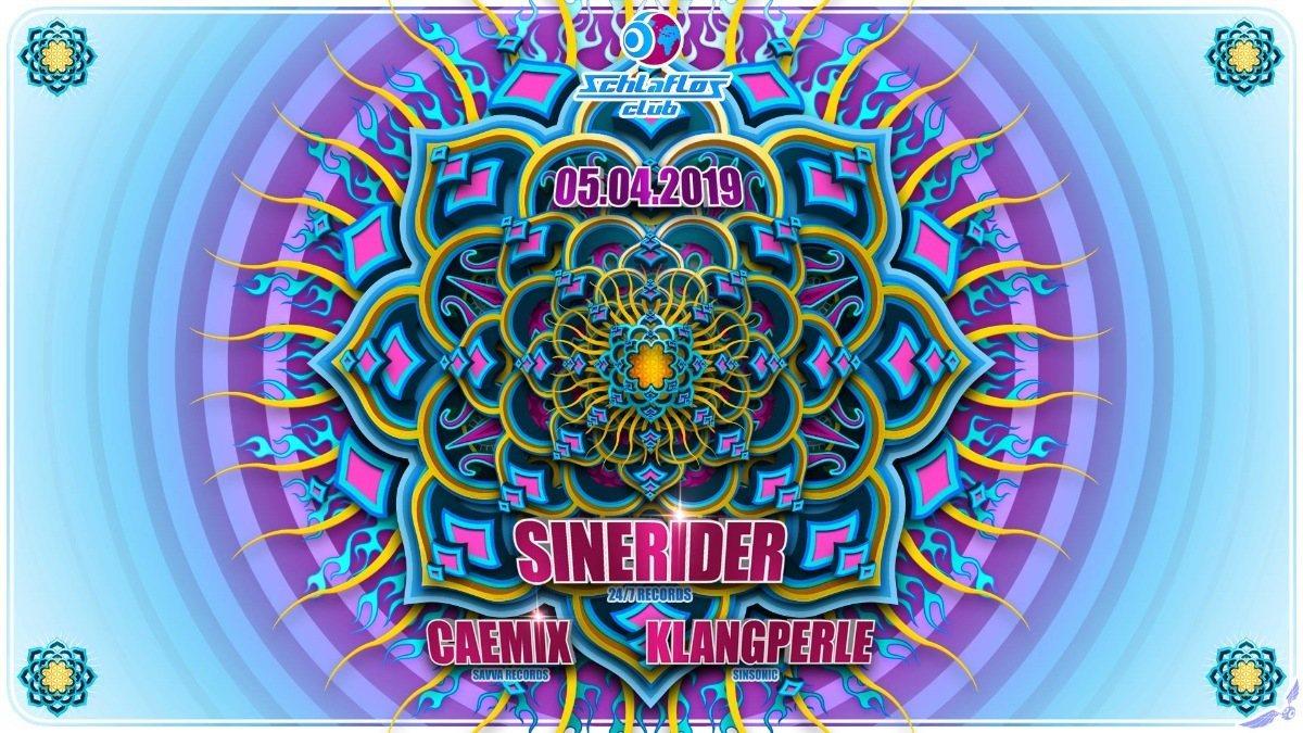 Sinerider at Schlaflos 5 Apr '19, 23:00