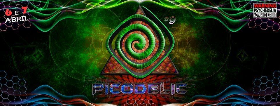 Picodelic #9 6 Apr '19, 16:00