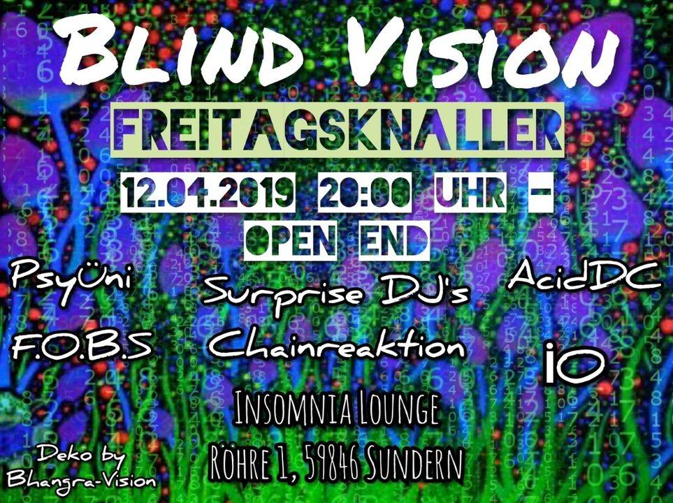Blind Vision Freitagsknaller 12 Apr '19, 20:00