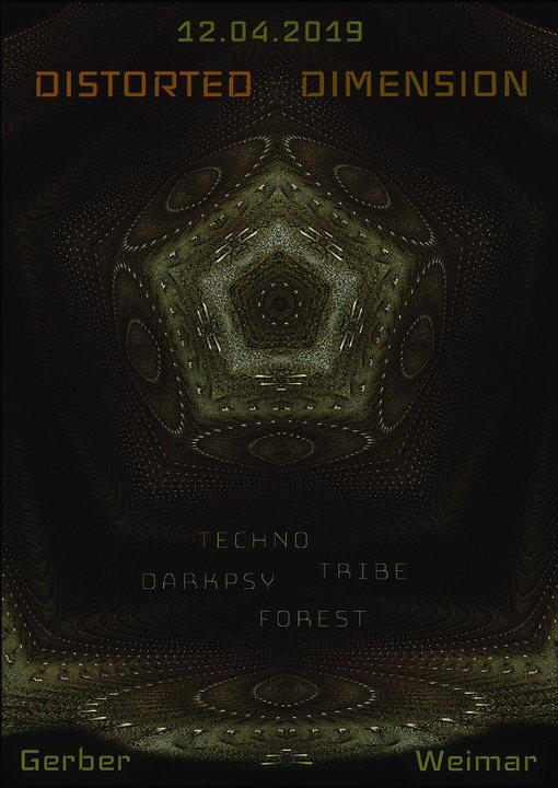 Distorted Dimension 12 Apr '19, 23:00