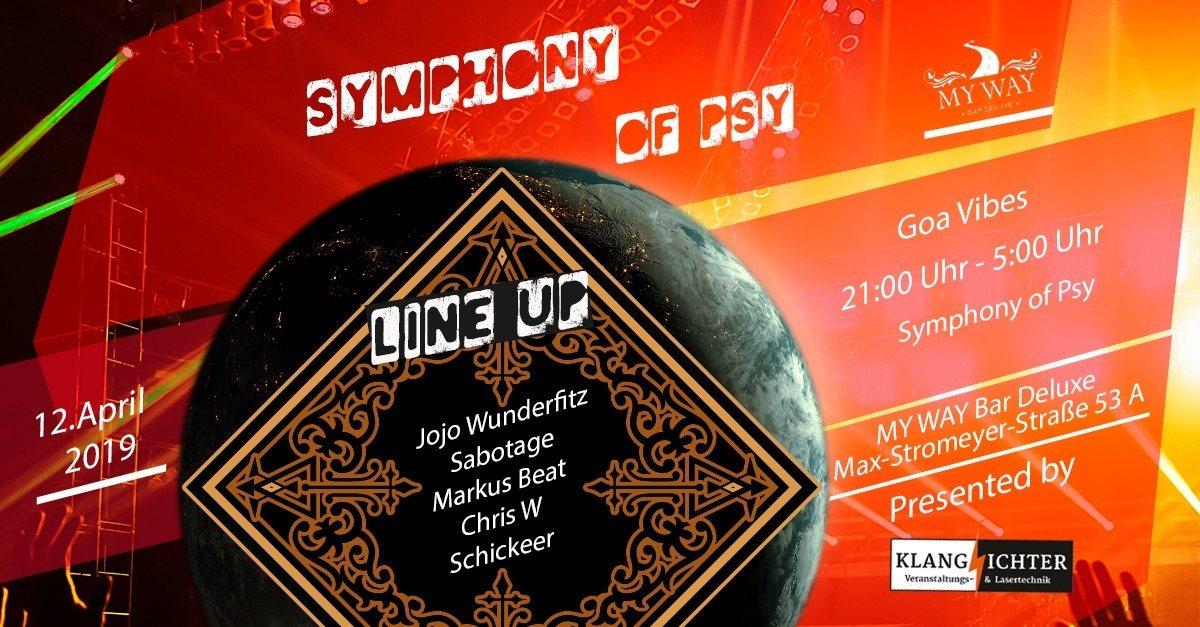 Symphony of PSY 12 Apr '19, 22:00