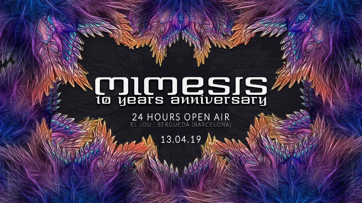 MIMESIS 10 Years Anniversary 13 Apr '19, 18:00