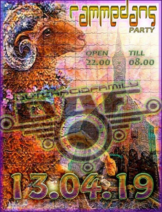 DAF Party Rammendans 13 Apr '19, 22:00