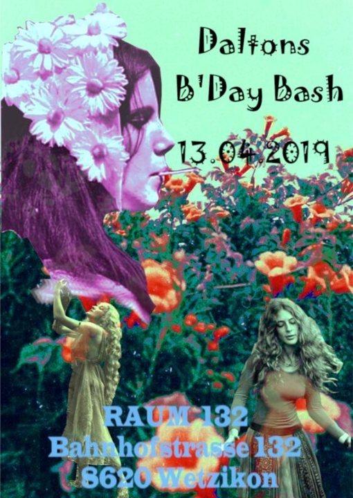 Daltons B'Day Bash 13 Apr '19, 22:00