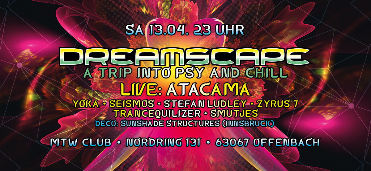 Dreamscape with Atacama 13 Apr '19, 23:00