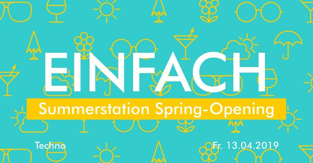 Einfach Open Air - Techno by ANANAS · 13 Apr 2019 · Vienna